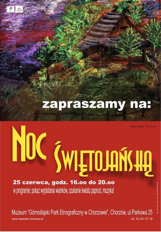 Noc Świętojańska w Górnośląskim Parku Etnograficznym
