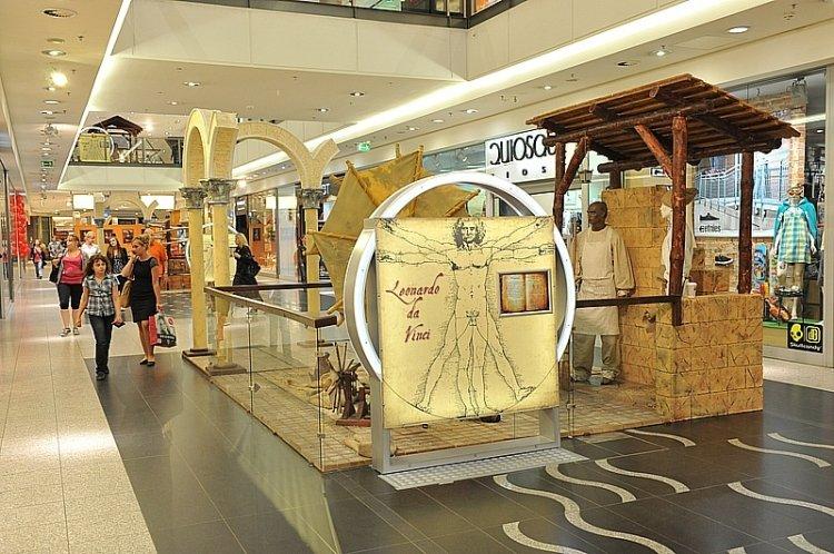 Wynalazki Leonarda da Vinci w Galerii Krakowskiej