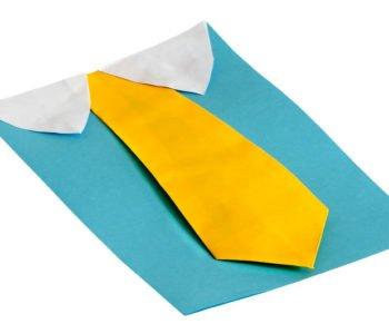 Laurka z krawatem dla taty