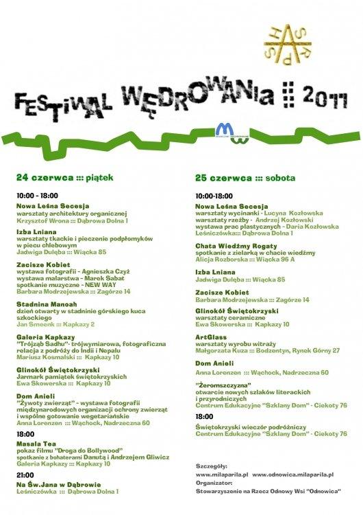festiwal wędrowania