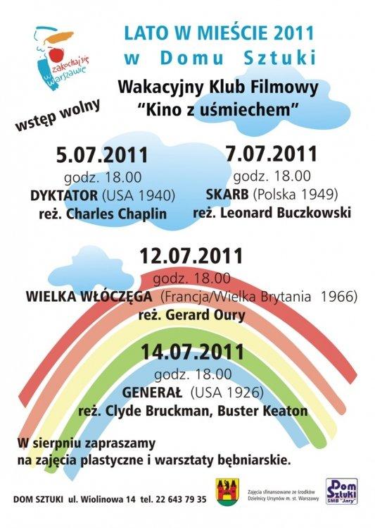 lato w mieście Warszawa