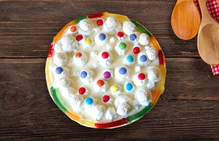 piankowe ciasto na zimno dla dzieci