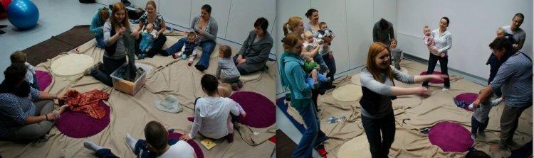 zajęcia dla rodzic z małymi dziećmi