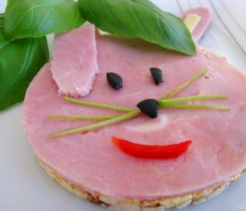 Króliczek  – przepis na wesołą kanapkę