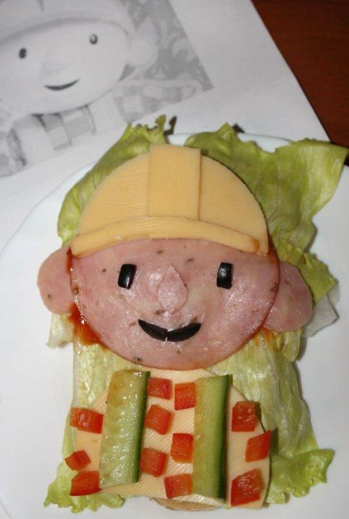 kanapka Bob Budowniczy - przepis