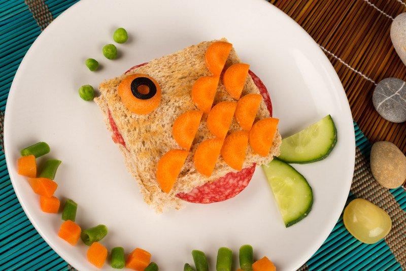 przepis na kanapkę ze złotą rybką