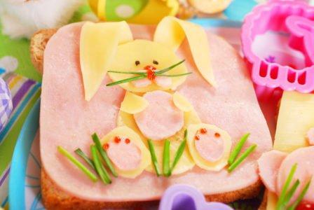 przepis kanapka zajączek