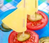 przepis na łódkę z pomidora