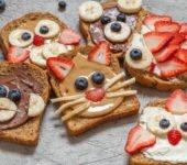 przepis na kolorowe kanapki dla dzieci