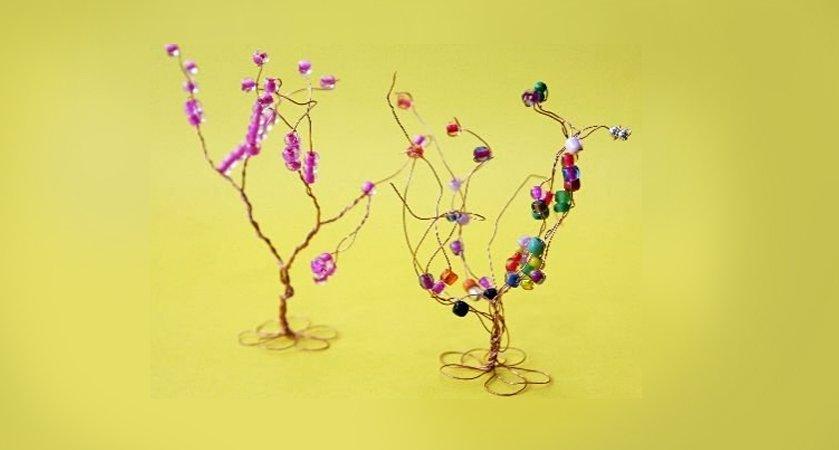 drzewko szczęścia z koralikami