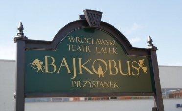 Bajkobus we wrocławskim Parku Wodnym