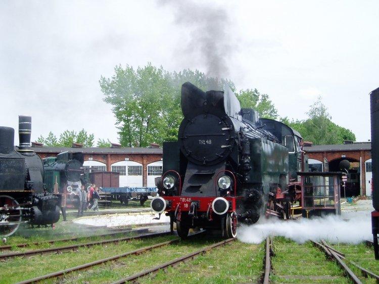 kolejowa majówka