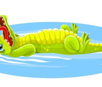 Wierszyk dla dzieci o krokodylu