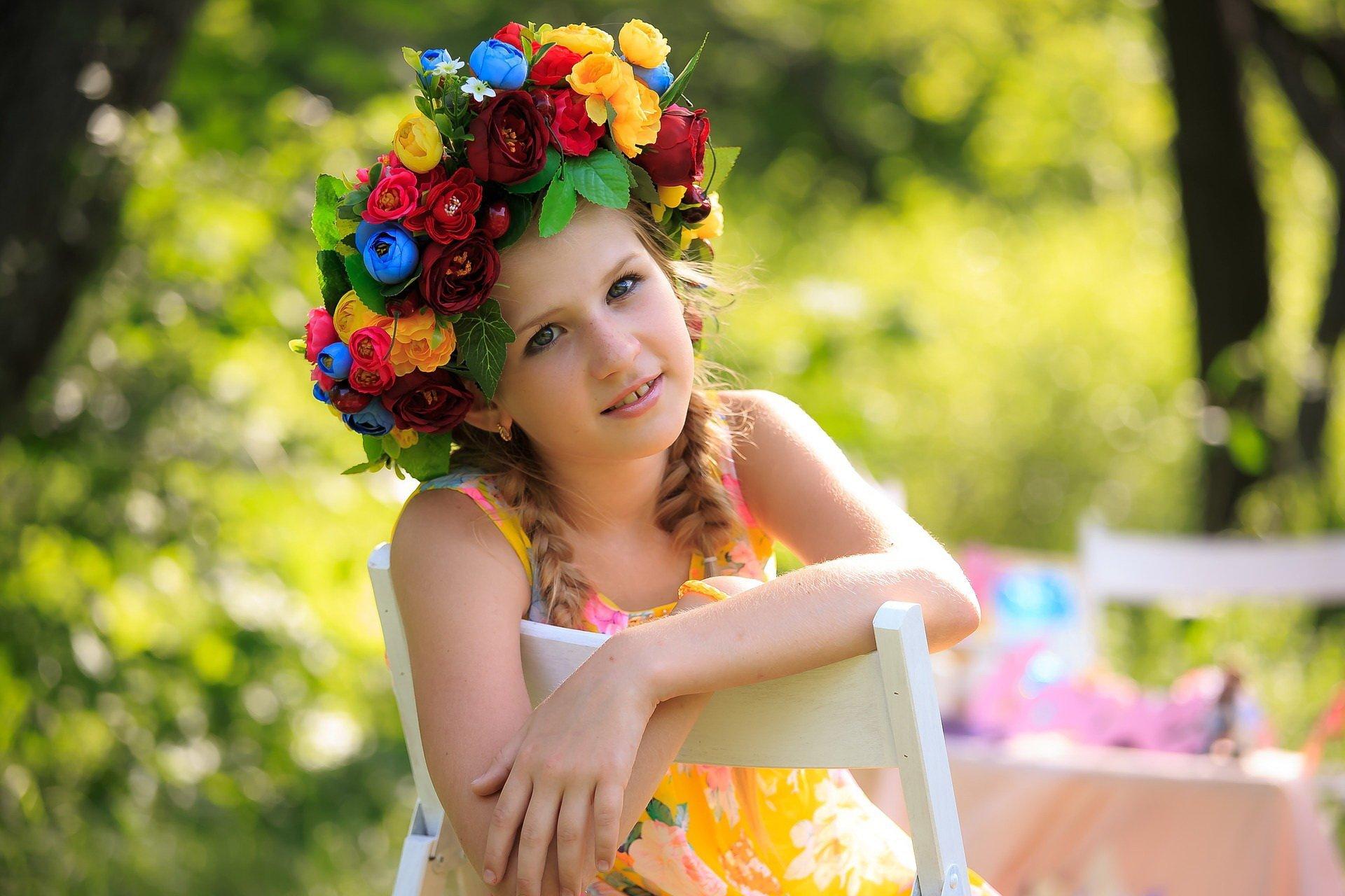 wiosenny wierszyk dla dzieci o kwiatach