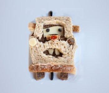 Przepis na kanapkę – autko – Złomek