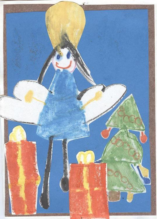 Konkurs plastyczny na kartkę Bożonarodzeniową