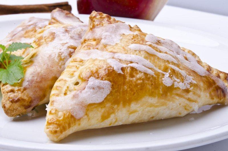 przepis na rożki z jabłkami z ciasta francuskiego