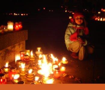 dzieci cmentarz