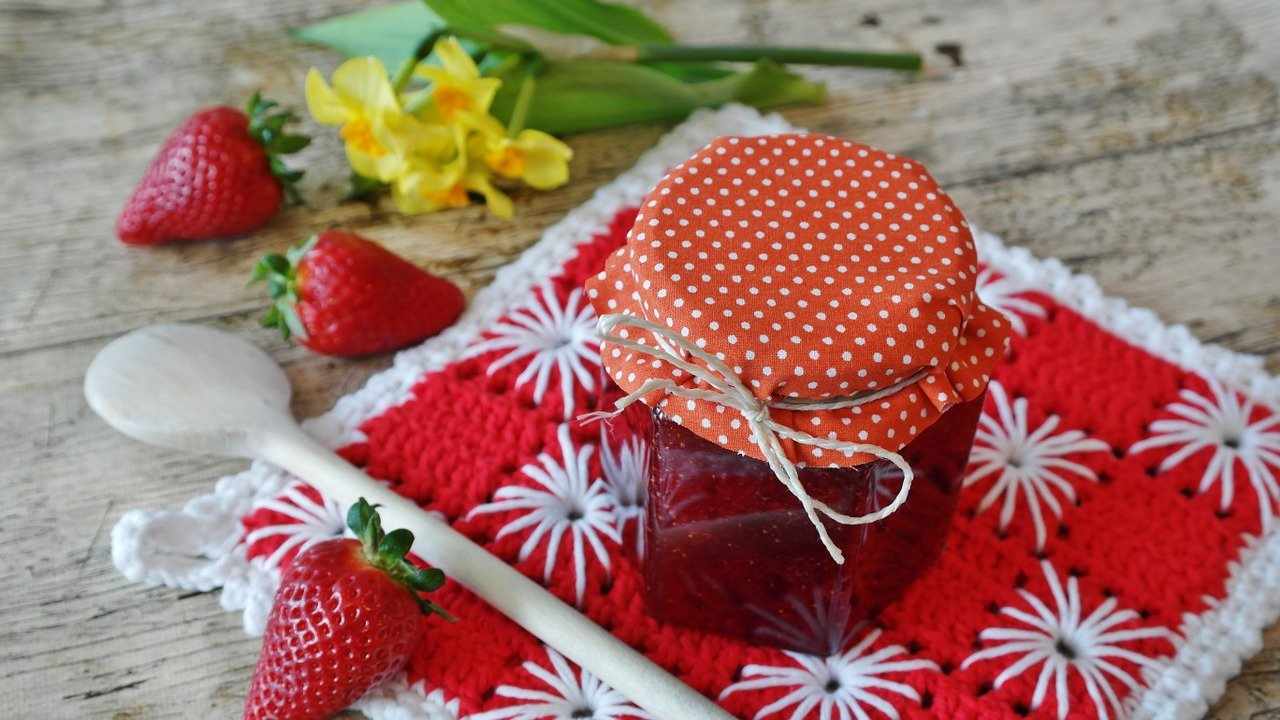przepis na dżem truskawkowy - przetwory domowej roboty