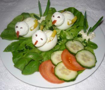 przepisy na Kaczuszki z jajek