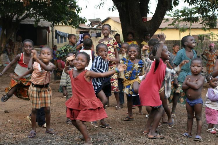 Taniec dla dzieci – rytmy i zabawy przy muzyce afrykańskiej na ...
