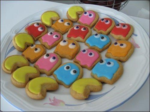 przepis na ciasteczka Wesołe-buziaczki