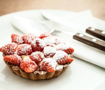 przepis na babeczki truskawkowe