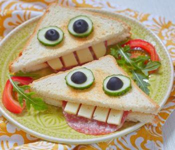 przepis na troche straszne kanapki
