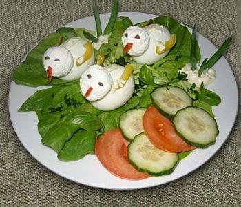 Przepis na kaczuszki z jajek