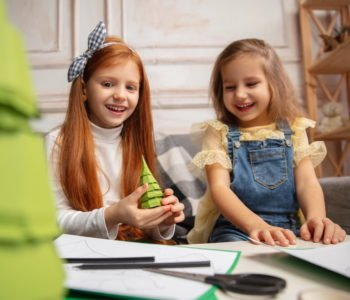 Ozdoby choinkowe z papieru jak zrobić z dziećmi