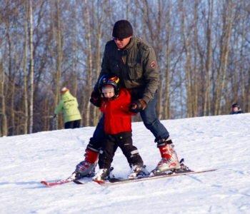 Pierwszy raz na narty z dzieckiem
