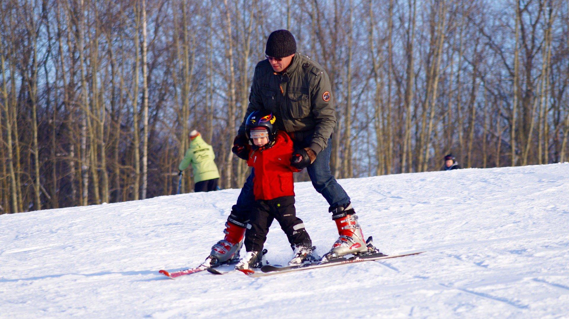 Kiedy z dzieckiem na narty
