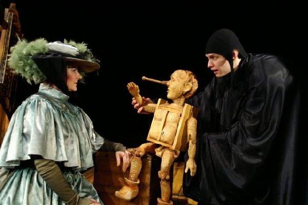 Przedstawienie Pinokio w Olsztyńskim Teatrze Lalek