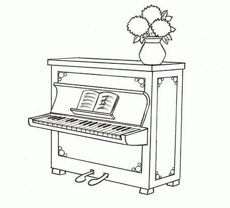 Kolorowe pianino