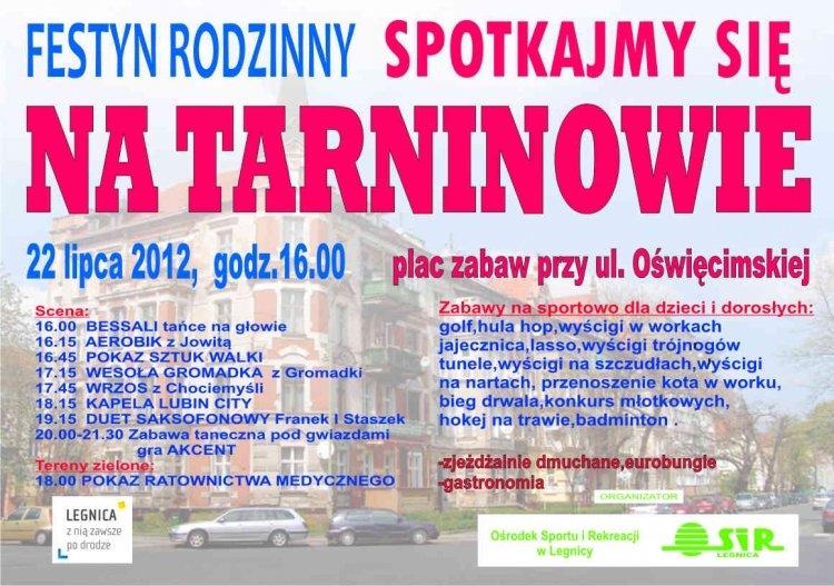 Festyn Rodzinny – Spotkajmy się na Tarninowie – Legnica