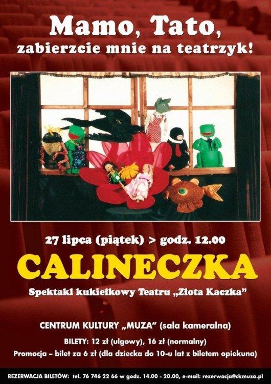 Teatrzyk kukiełkowy Calineczka – Lubin