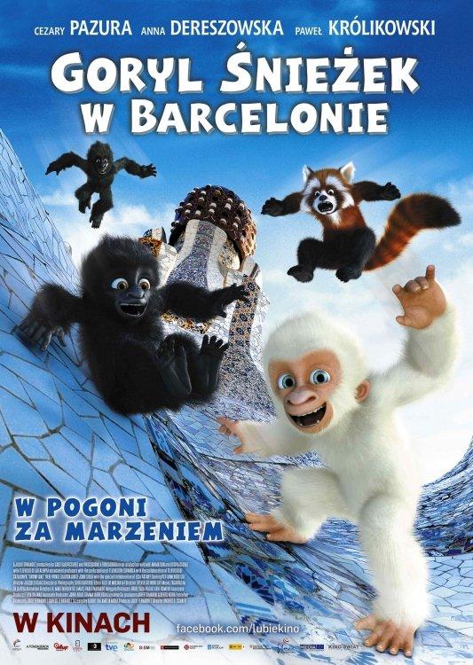 Goryl Śnieżek w Barcelonie – film dla dzieci Lubin