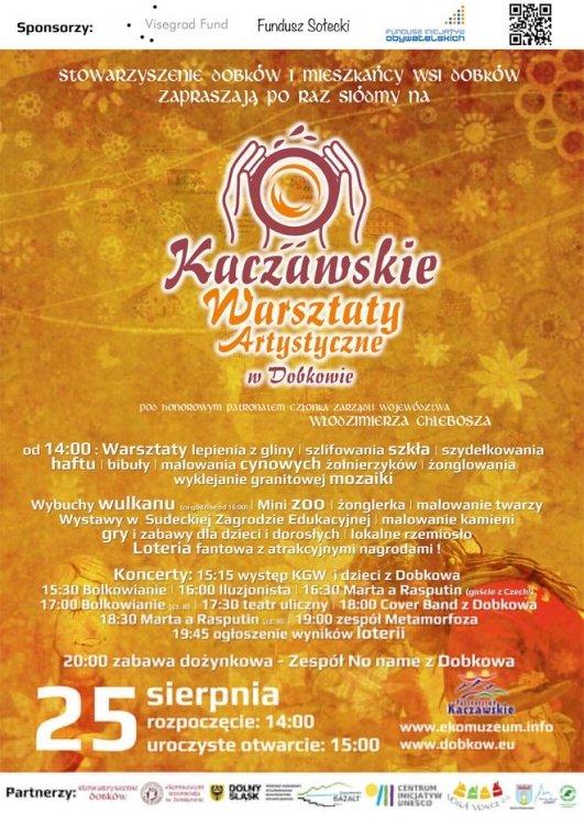 Kaczawskie Warsztaty Artystyczne – Dobków, Dolny Śląsk