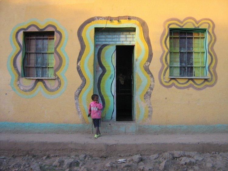 Wzory i kolory Afryki
