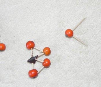 Jarzębinowe abecadło – uczymy się literek – jesienna zabawa