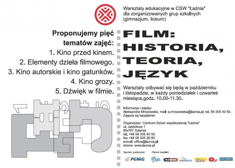 Warsztaty filmowe w CSW Łaźnia