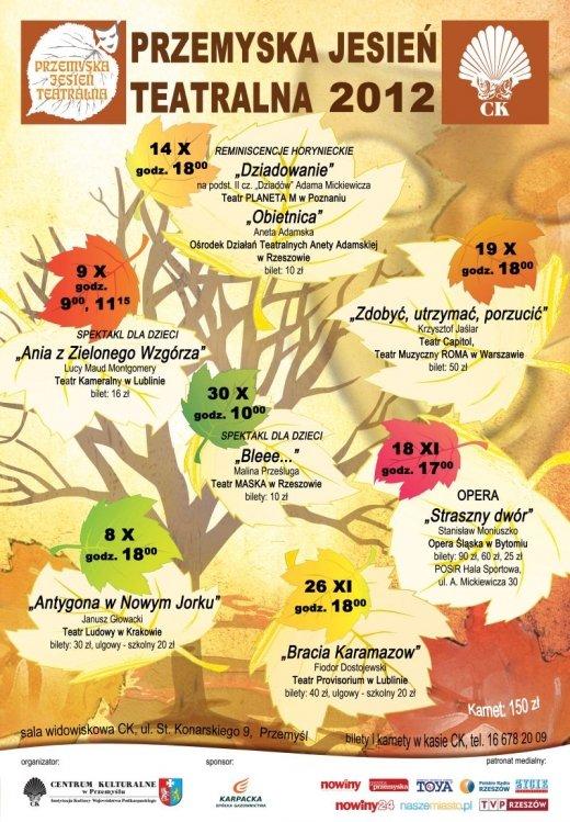 XX Przemyska Jesień Teatralna