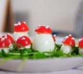 przepis na muchomorka z jajek