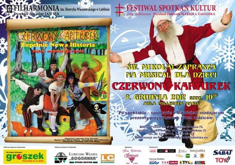 Święty Mikołaj w Filharmonii – Lublin
