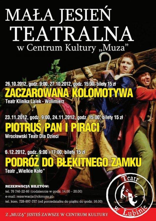 Mała Jesień Teatralna w CK Muza – Lublin