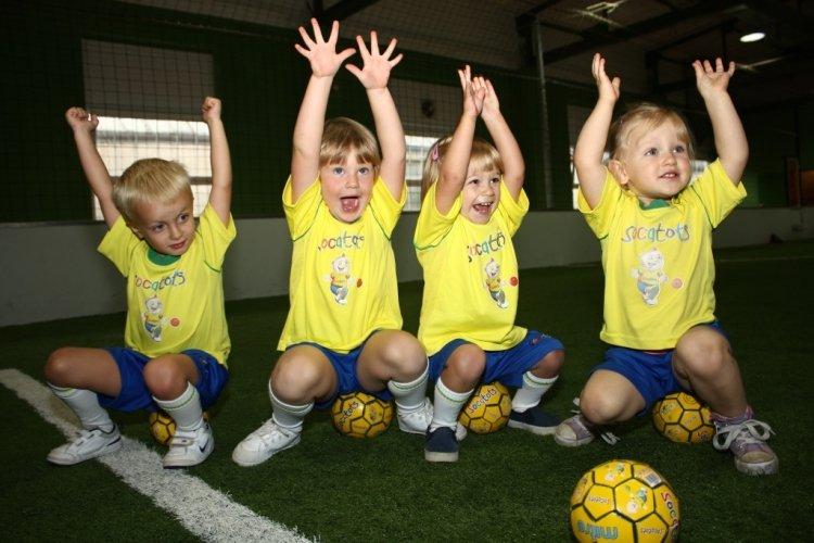 SOCATOTS – zajęcia ogólnorozwojowe dla dzieci