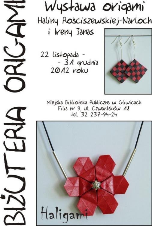 Wystawa origami