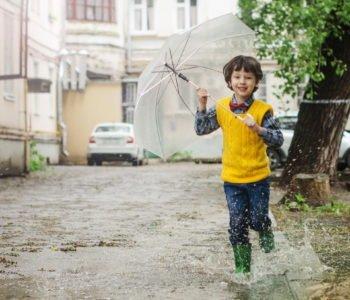 Pada deszcz