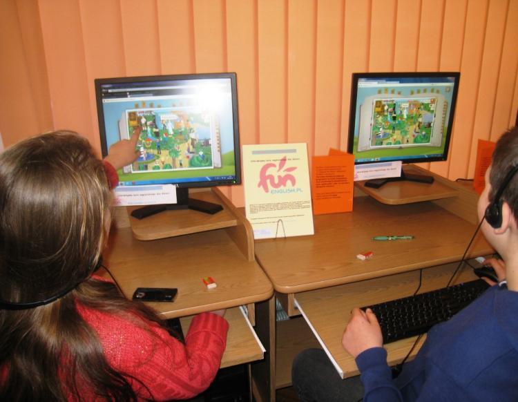 FunEnglish w bibliotece – interaktywny kurs angielskiego dla dzieci
