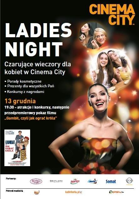 Ladies Night w Cinema City Galeria Kazimierz i Bonarka!